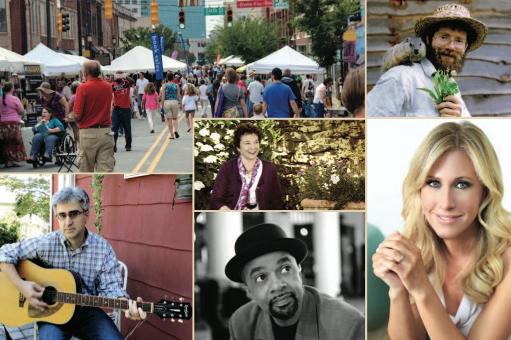 Lyrical Inspiration With and Without Pages – Bookmarks Tenth Festival of Books and Authors