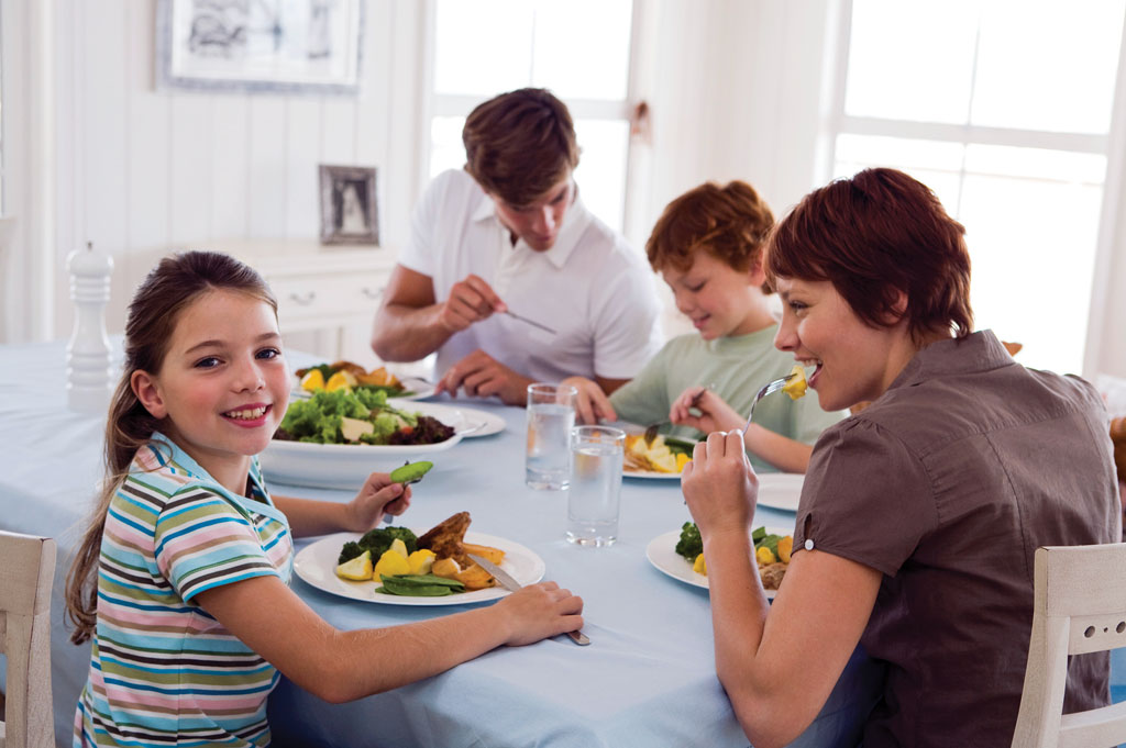 small Family Meals Make a BIG Difference