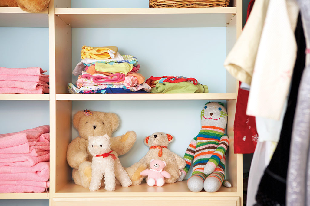 Creative Ways to Organize Kids Toys and Clothing