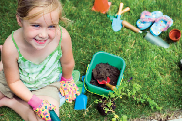 A Child's Garden:  Teaching Children the Value of Growing Food