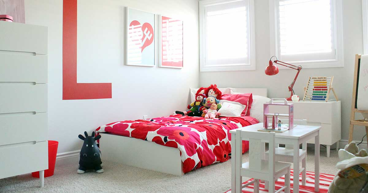 Spring Cleaning Your Child's Room