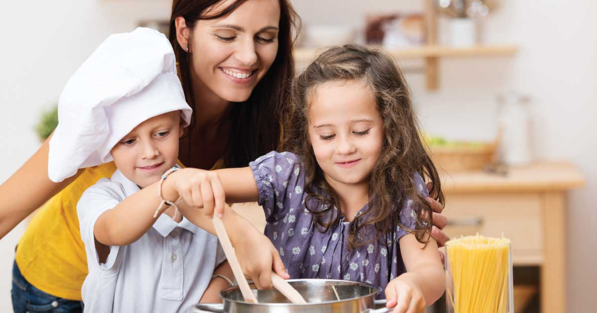 Kids in the Kitchen: St. Patrick's Day Treats