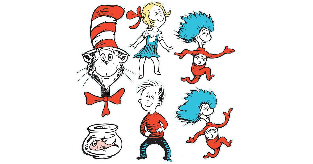 March 2:  Dr. Seuss' Birthday