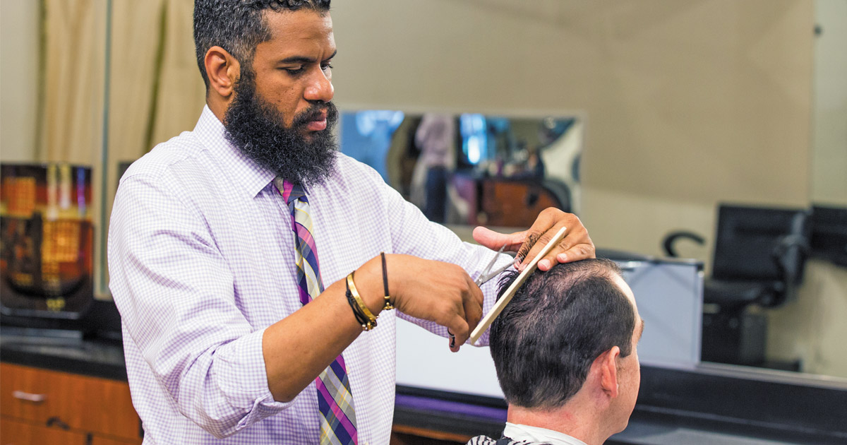 The Oval Office: Hair Grooming for the Man in Charge
