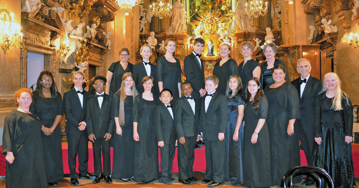 Winston-Salem Youth Chorus Trip to Vienna Music Festival