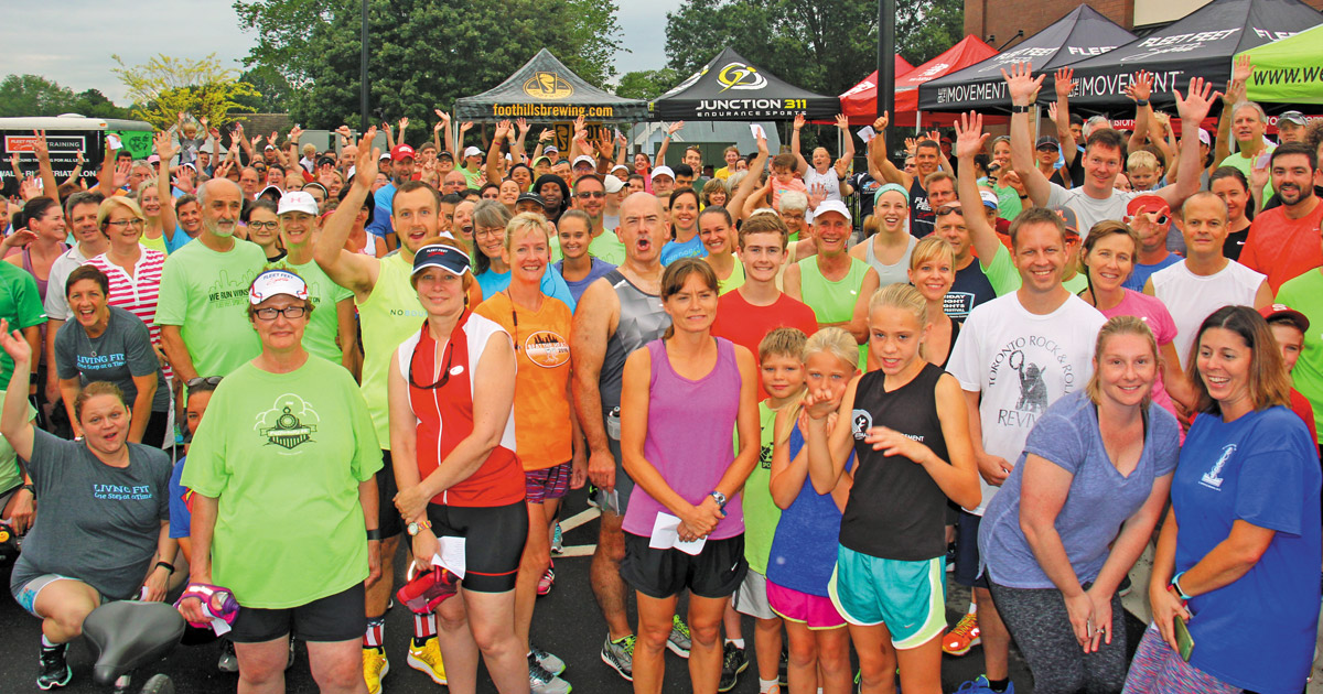 """""""Out and About"""" in Winston-Salem with…Fleet Feet Sports"""