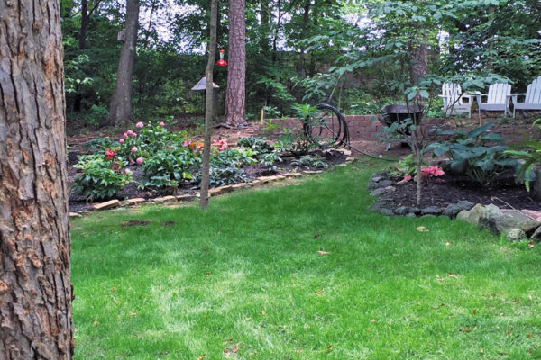 Wrights Landscaping:  After Five Years of Projects at This Home, It's Not Just a Business Relationship Anymore
