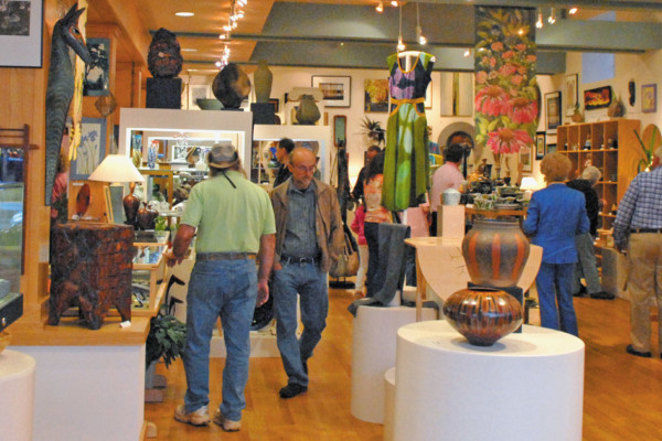 """Out and About"" in Winston-Salem… With Piedmont Craftsmen - Gallery Hop"