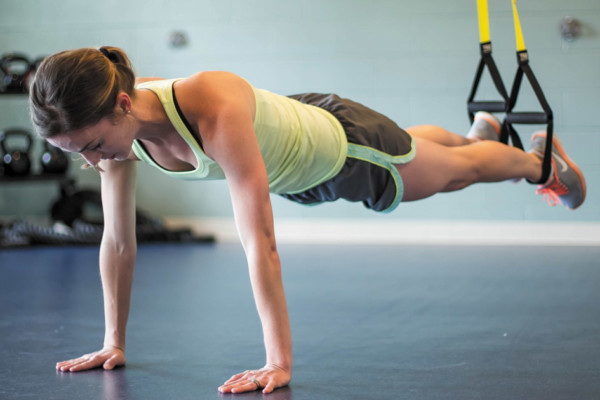 Get Moving with a Total Body TRX Workout!