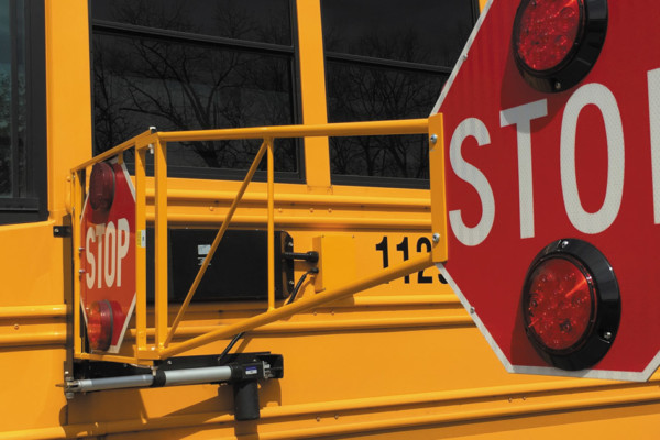 "Bus Safety Solutions' Extended Stop Arm – ""Putting a STOP to NOT STOPPING!"""