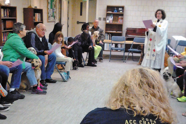 Blessing of the Animals at St. Clement's Episcopal Church