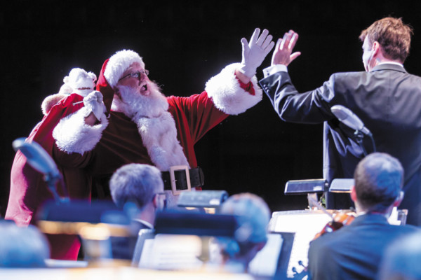 Winston-Salem Symphony's Annual A Carolina Christmas! New for 2017:  the North Carolina Black Repertory Company