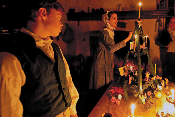 The Holiday Spirit is Alive in Historic Old Salem!
