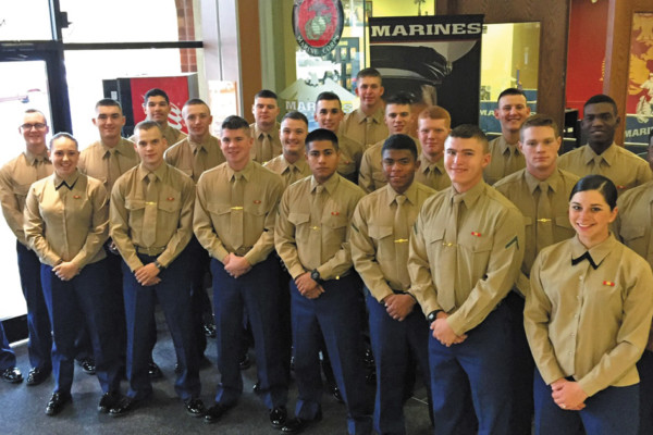 Marine Recruits