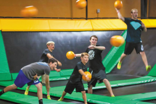 Kids & Parents Will Both LOVE Rockin' Jump's Unique Birthday Party Experience