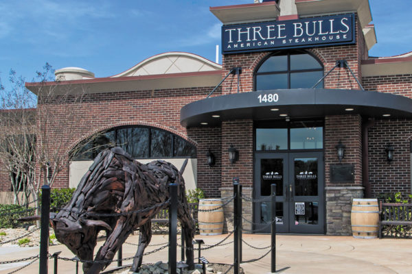 New Dining in Clemmons:  Three Bulls American Steakhouse