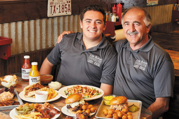 Nick & Stephen:  The Father-Son Duo behind Little Richard's BBQ
