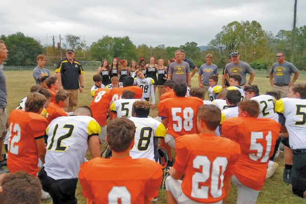 Davie Pride HFL Football Offers Inspiring, Christian Youth League