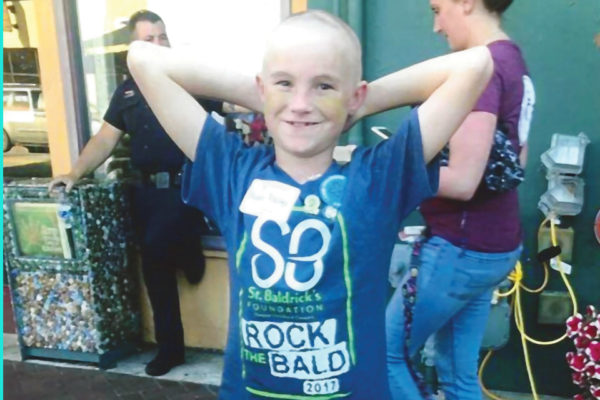 The 12th-Annual St. Baldrick's Day at Finnigan's Wake
