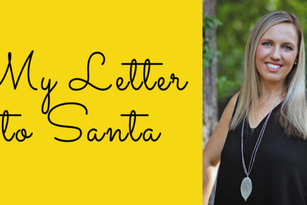 Keep On the Sunny Side: Letter to Santa: First Draft