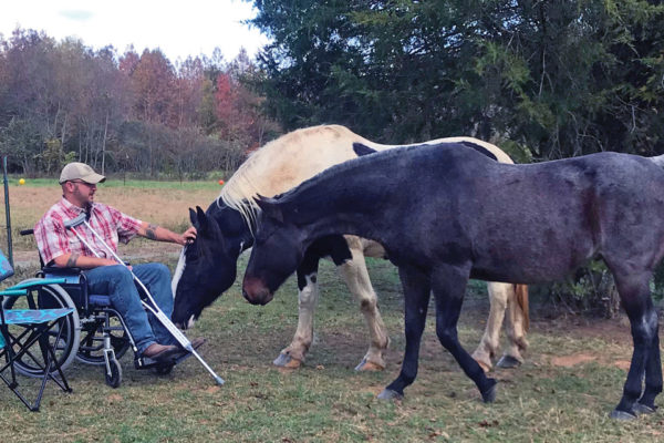 Russell Robinson Horses & Veterans: Turning Tragedy into Triumph