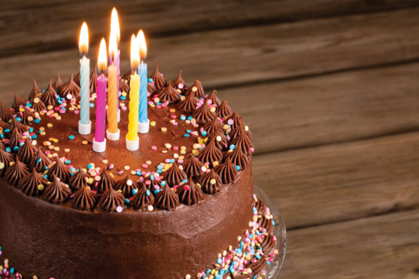 Double Chocolate Birthday Cake
