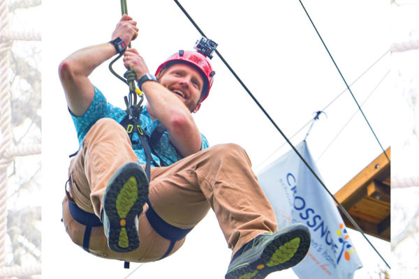 High-Ropes Course Brings Adventure-Based Counseling to Crossnore