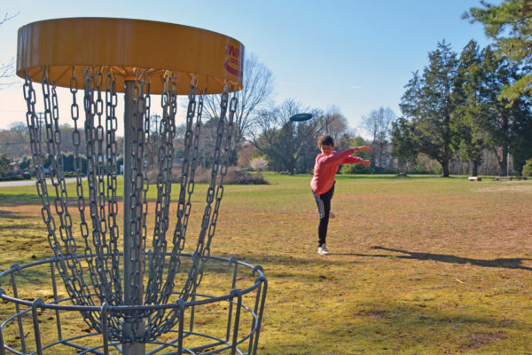 New Disc Golf Course at Sunrise UMC