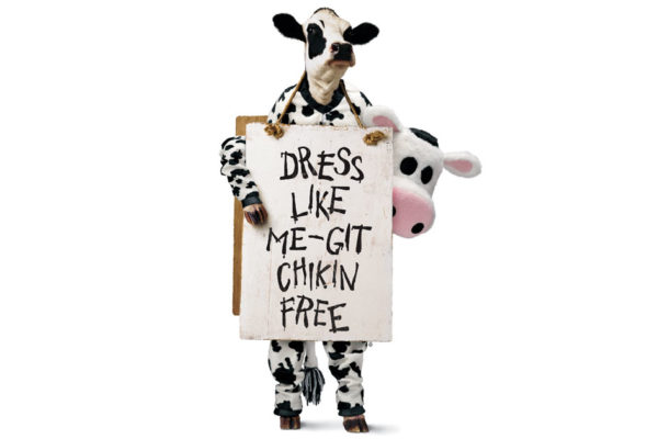Cow Appreciation Day:  An Interview with a Chick-fil-A Cow