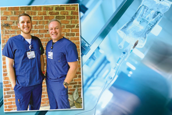 TV Journalist Changes Careers to Join Son in Nursing