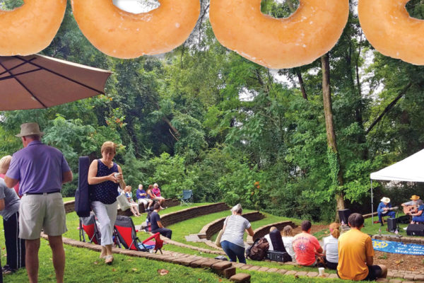 Coffee, Donuts, and Jam at The Ryan Wood Memorial Amphitheatre