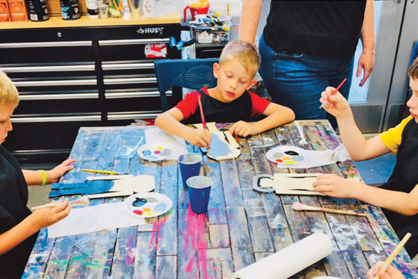 Creative Birthday Parties at Hoots and Hollers