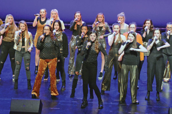 """Out and About"" in Winston-Salem with A Cappella Jam for Hope"