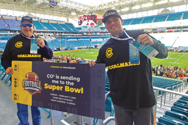 A Football Fan's Dream Come True Local Business Owner Wins a Trip to the Super Bowl