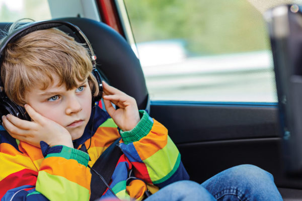 "Kids Say ""No"" to Long Car Rides"
