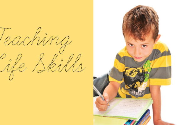 Teaching Life Skills:  Cursive, Spelling, and Creative Writing