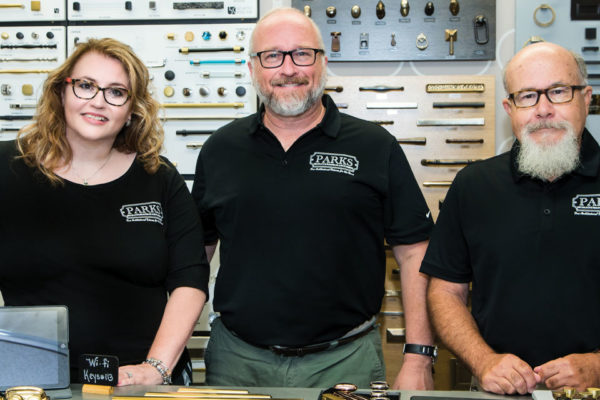 Getting a Handle on Parks Decorative Hardware & Plumbing