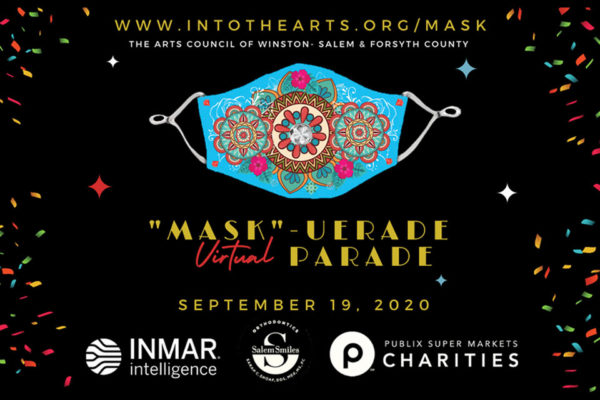 """In and About"" in Winston-Salem – With The Arts Council and the ""MASK-UERADE Parade"""