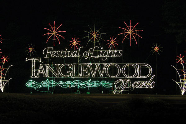 Tanglewood Festival of Lights is Back to Brighten Your Holiday Season