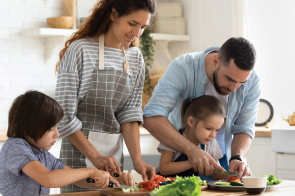 More Cooks in the Kitchen - Encouraging the Family to Make Meals Together
