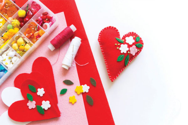 Creatively Crafty, Handmade, Heartful, and Artful V-Day Gifts this Valentine's!